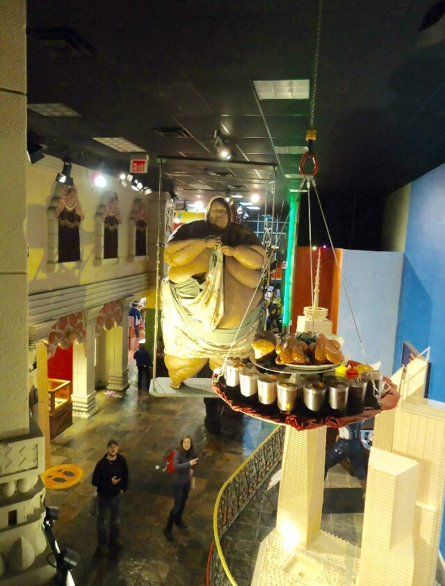 """Exhibits at Ripley""""s Believe it or Not at Times Square"""