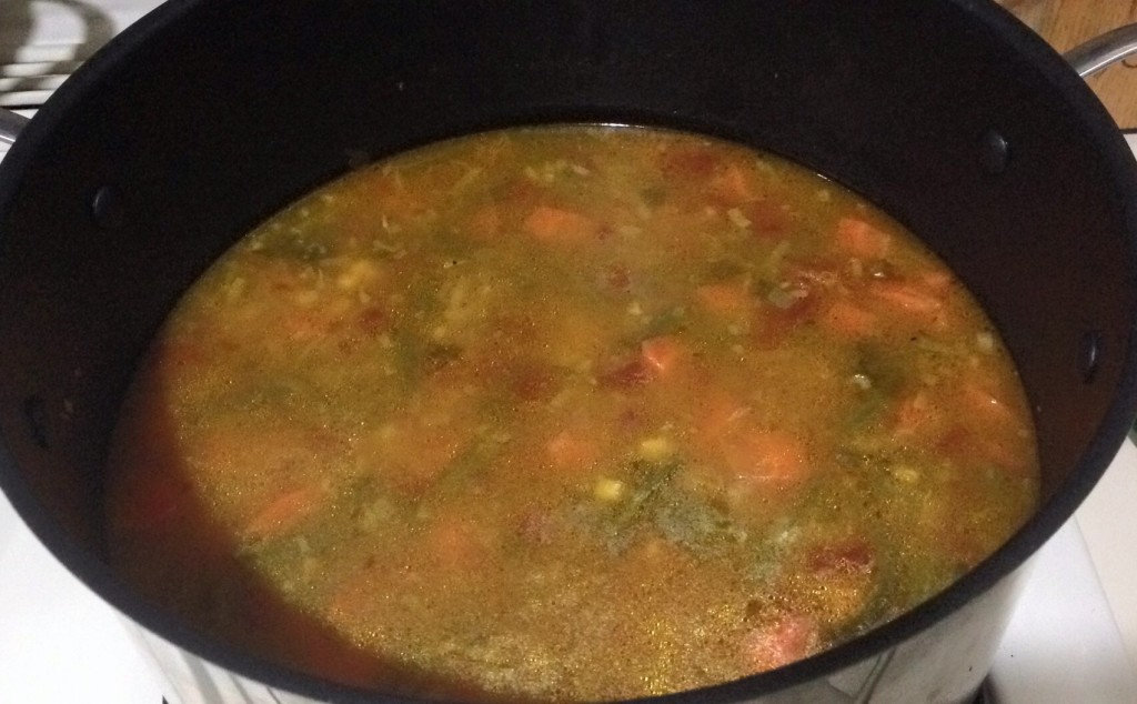 The perfect soup for a cold winter day!