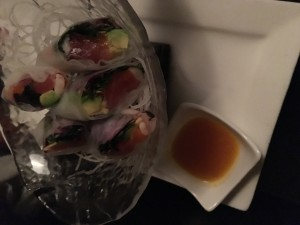 Batto Jutsu, an appetizer for the Sasuke Set which offers three appetizers and a choice of two entrees for $68.