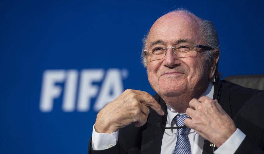 FIFA former President Sep Blatter Photo Credit: The Washington Times