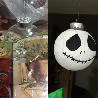 A before and after of the designs you can make with this ornament. Photo Credit: Bethzaida Roldan