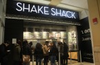The Shake Shack chain at Queens Center Mall  located on the first level with entrances from 59th avenue and inside the mall itself.