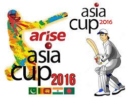 2016 Asia Cup Logo Photo Credit: Asian Cricket Council
