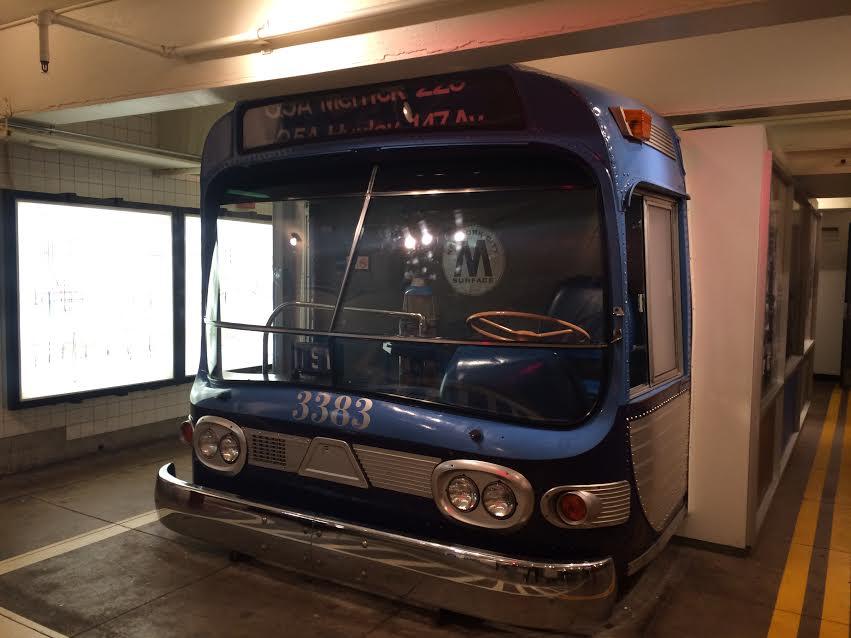 Exhibits at New York Transit Museum