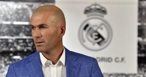 New Coach Zinedine Zidane Photo Credit: Real Madrid