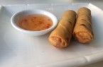 Bangkok Cuisine's Lunch special gives you a choice of dumplings or spring rolls.
