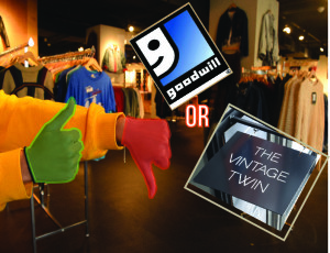 Shopping vintage clothing is becoming more popular throughout U.S thrift and vintage stores. Credit: Anthony Vallejo