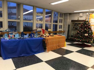 Caption: The Edison lobby displays scenes that represent different holidays. Photo Credit: Gloria Mourcous