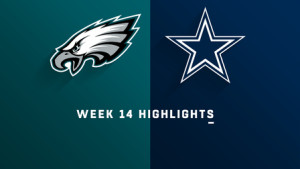 Caption: It is week 14 of the 2018 NFL, where the Philadelphia Eagles prepare to face off against the Dallas Cowboys in AT&T Stadium. Both teams are seeking for that difficult win in order to preserve their dreams of one day making it to the big stage: the playoffs.