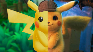 Side by side comparison of Detective Pikachu. (Video game on left, Live-action on Right) Credit: Gamespot