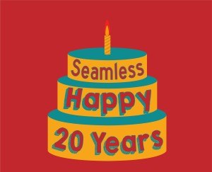 To commemorate Seamless' 20 years of business Edison is giving them a cake drawn in their art style. Credit: Byron Quinteros