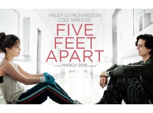 five feeet apart