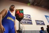 Ulaan Hyder awaits his match at Eagle Academy Photo Credit Grace Mc Nally